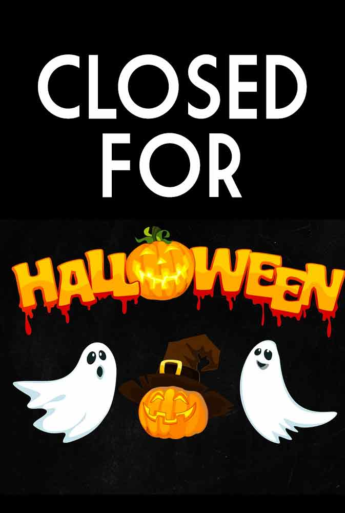 Movie Poster for Closed for Halloween.